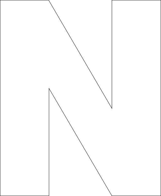Letters template printable hatchurbanskript spiritdancerdesigns Images