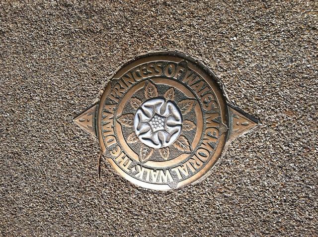 Princess Diana Memorial Walk Hyde Park, London