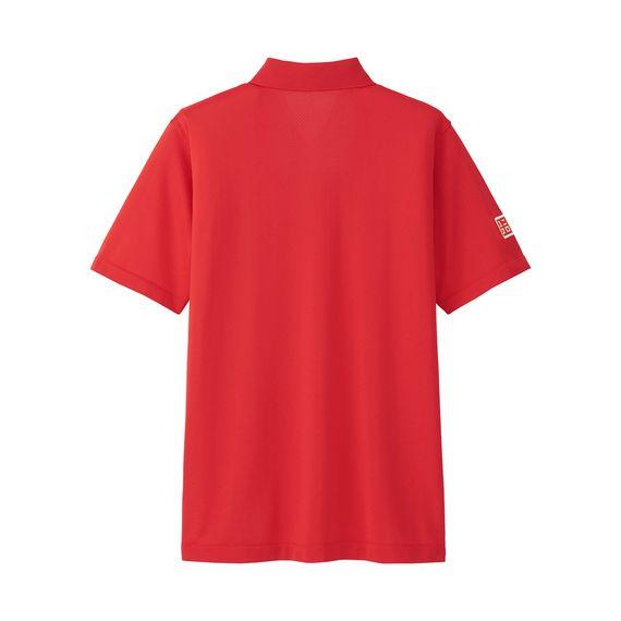 錦織圭選手が全豪オープンで着用!トップアスリートを支える高機能ポロ。<br>・どんなに汗をかいても驚異の速さで乾かし、肌離れの良いドライEXを使用。<br>・長時間にわたる激しいゲームによる汗の不快感を抑える。<br>・今季からマッピングと言う成型技術を採用。<br>・サイドに縫い目がなく、肌当たりの良いストレスフリーな着心地へと進化。<br>・力強さを印象付ける、シンプルに徹したデザイン。<br>・