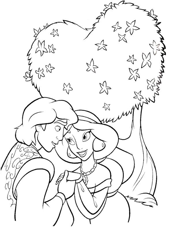 coloring pages jasmine christmas - photo#28