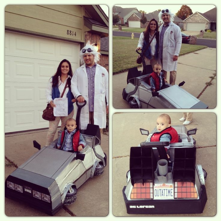 Back to the future costumes delorean i got this amazing idea from