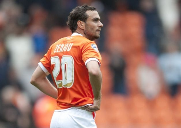 Sergei Zenjov has left Blackpool after a mutual agreement was reached to terminate his contract with immediate effect.