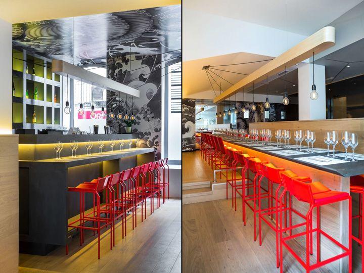 259 best bon deco images on pinterest hotel reception for Koi sushi aix