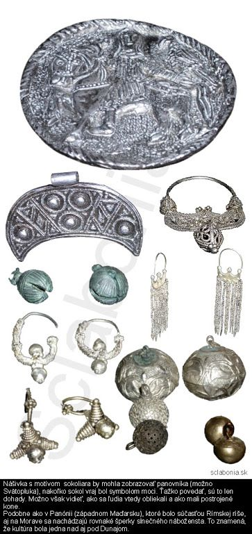 Slavic jewellery - Great Moravia