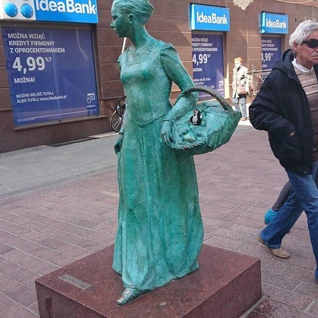 #toruń#monument#krtek