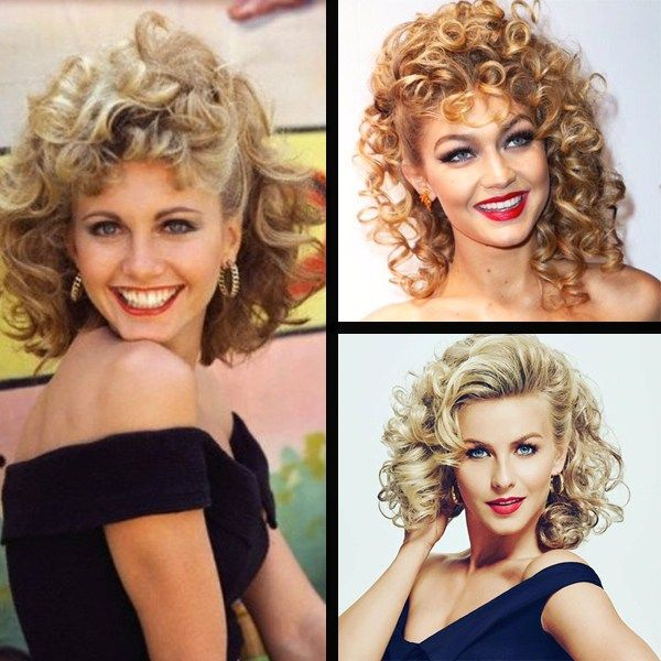 Halloween Hair How To Sandy From Grease Behindthechair Com Sandy Grease Grease Halloween Costumes Sandy Grease Costume