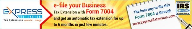 E-File 7004 #low #income #support http://income.remmont.com/e-file-7004-low-income-support/  #efile 7004 # E-File 7004 Form to get business tax extension *FORM 7004 Deadline is on March 15th [Tuesday] E-file 7004 Form to IRS Use Form 7004 to request an automatic extension of time to file certain business income tax, information, and other returns. The extension will be granted if you complete Form 7004 properly, […]