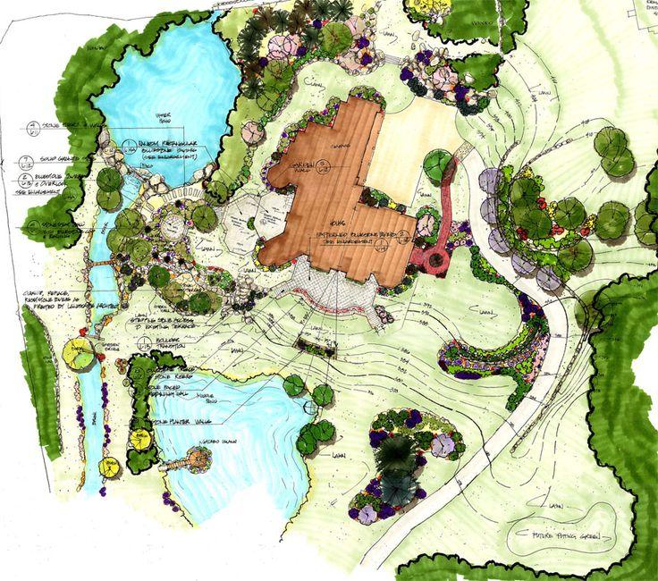 World class landscape designs landscapeplan 1 plans for Dc landscape design