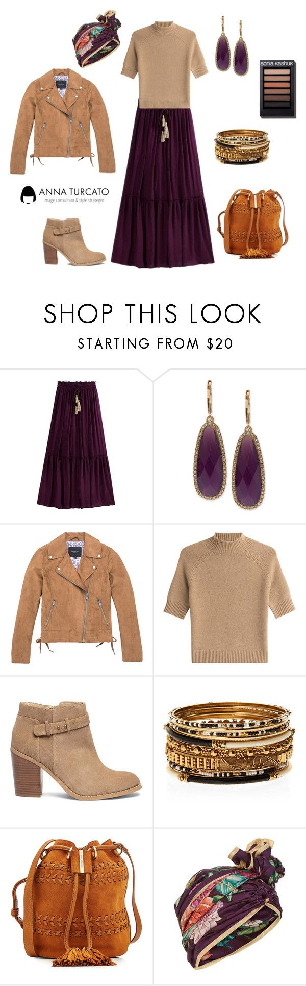 """""""Etno lady in Autumn"""" by annaturcato ❤ liked on Polyvore featuring Lonna & Lilly, Marc New York, Theory, Sole Society, Amrita Singh, See by Chloé and Dee Di Vita"""