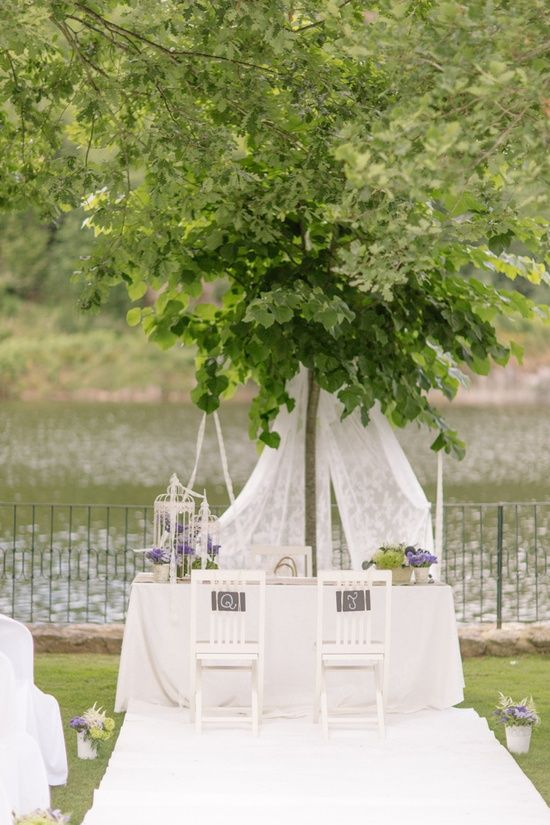 let nature decorate for you wedding aisle