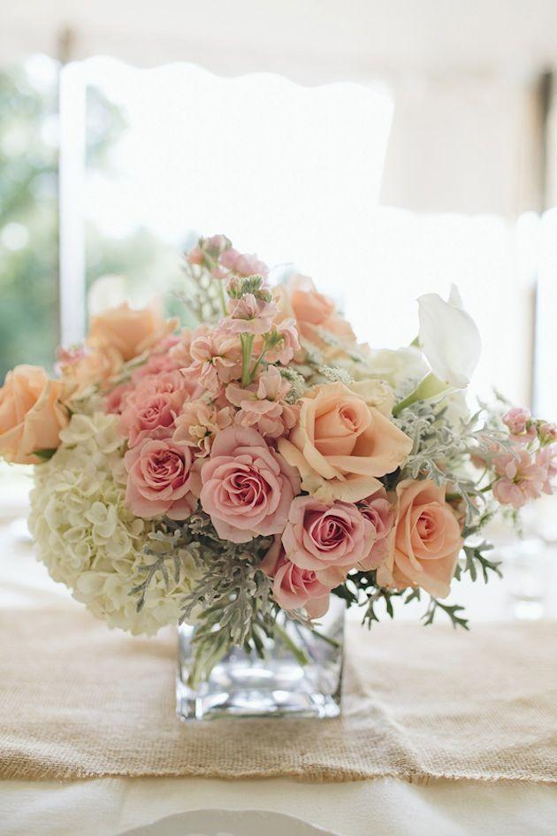Romantic Peach and Gold Wedding | Bridal Musings Wedding Blog