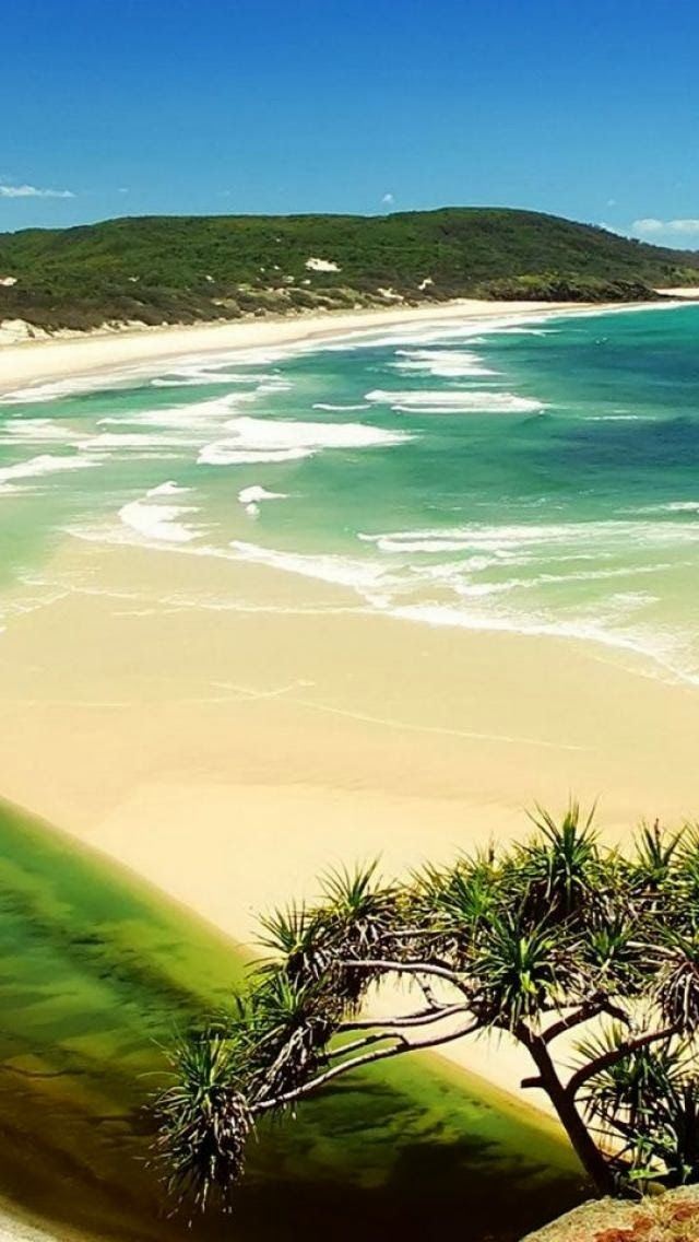 World's largest sand island........Fraser Island, Queensland, Australia