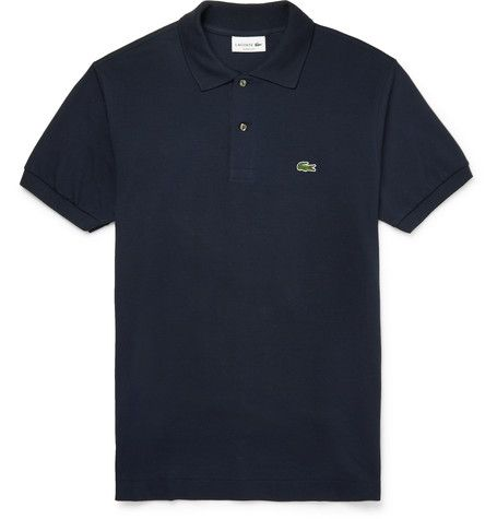 LACOSTE Cotton-Piqué Polo Shirt . #lacoste #cloth #polos