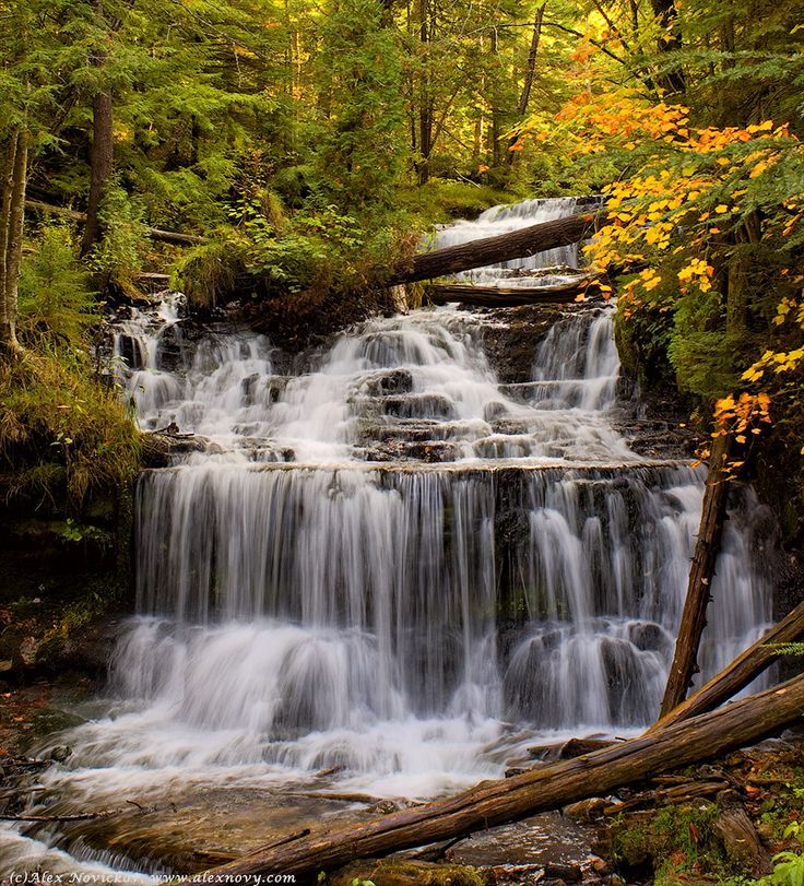 62 Best Waterfalls In Michigan Images On Pinterest