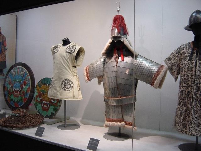 Korean armor display