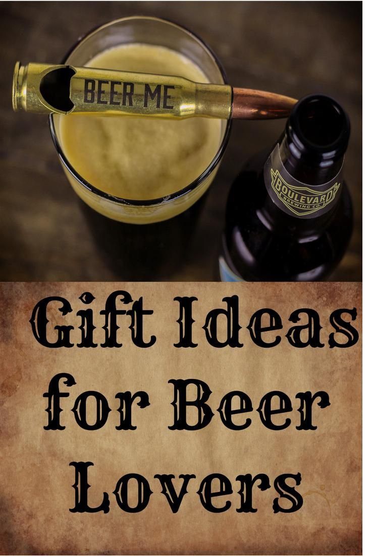 Unique gifts for men and women who love beer. Bullet bottle openers ... cbd2facb34
