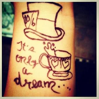 I love sharpie tattoos!