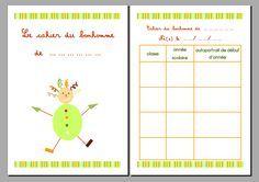 le cahier du bonhomme : programmation détaillée pour le cycle 1