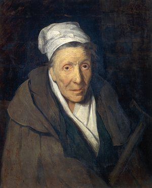 A woman addicted to gambling, by Jean-Louis Theodore Gericault (1791-1824).