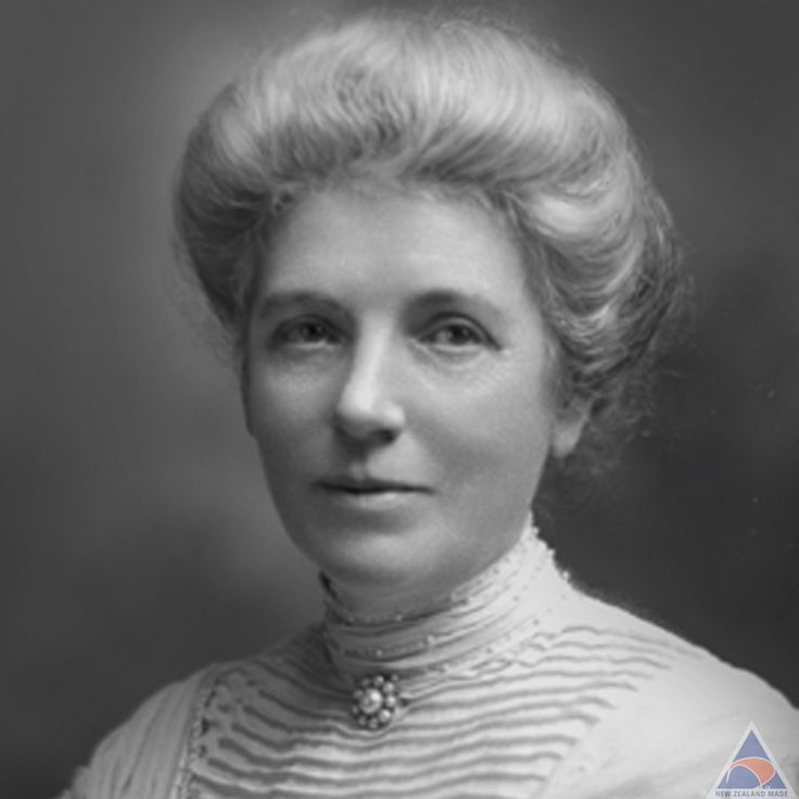 Kate Sheppard -    the most prominent member of New Zealand's women's suffrage movement and was the country's most famous suffragette. She also appears on the New Zealand ten-dollar note.