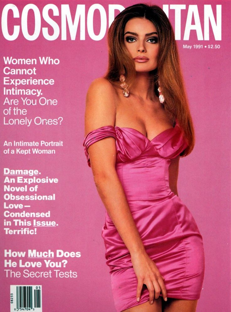 Cosmopolitan magazine, MAY 1991 Model: Paulina Porizkova Photographer: Francesco Scavullo