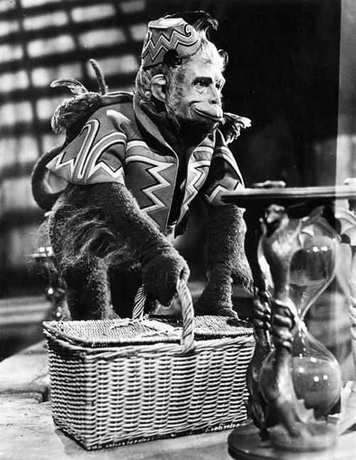 Pat Walshe as 'Nikko', the leader of the Wicked Witch's flying monkeys in The Wizard of Oz (1939)