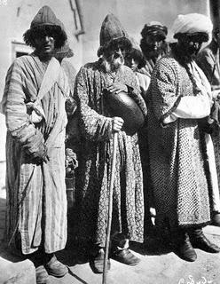 Wandering Dervishes, Bukhara 1901?