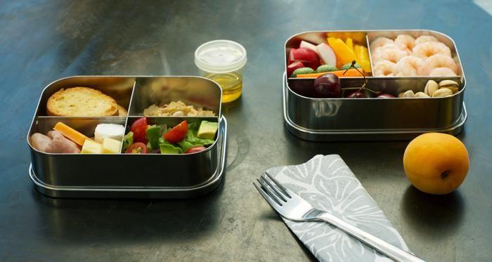 Préparer un lunch léger pour le bureau style «bento box»