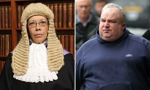 QC Patricia Lynch and defendant John Hennigan