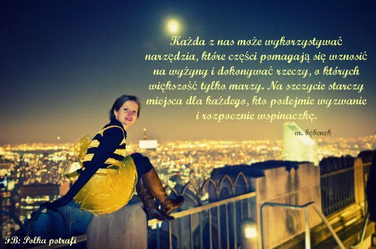 """Narzędzia znajdziesz w """"Polka potrafi. Zostań bohaterką własnego życia!"""" www.ksiazkapolkapotrafi.pl/bohaterka"""