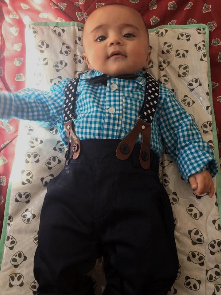 7533ddda6 Adorable Gentleman Plaid Clothing Suit For Baby Boy Cartoon Baby Boy  Clothing Set, Kid Boy Summer Sleeveless clothes Set, Children Boy Clothes  Set, ...