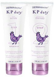 DERMAdoctor KP Duty Kit - Dry Skin Repair Kit (Cre by DERMAdoctor. $60.00. DERMAdoctor KP Duty dry skin repair kit contains all you need to control the symptoms of Keratosis Pilaris! Rapidly improves the appearance of chicken skin bumps by exfoliating without causing irritation and hydrating dryness with a powerful, dermatologist preferred humectant, leaving skin soft and smooth. Eliminates inflammation at base of each hair follicle (visible as reddish polk...