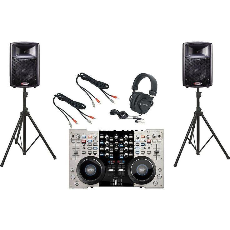 Hercules DJ 4-Mx / Harbinger APS12 DJ Package