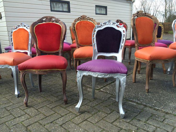 Barok stoelen voor Hans en Grietje in Zeewolde