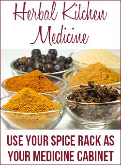 Great interview with Kami, Use your spice rack as your medicine cabinet