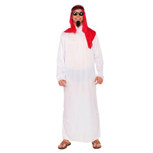 Disfraz de Jeque Árabe La diversión en los Carnavales empieza cuando llegan los jeques árabes a la fiesta. Disfrázate en grupo con los amigos y a bailar al estilo Bollywood.