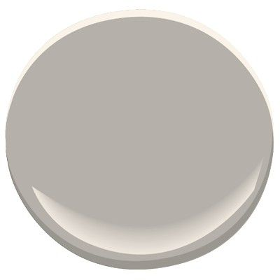 Benjamin Moore Stone Harbour: a classic, elegant gray with a hint of taupe. A Candice Olson designer color pick.