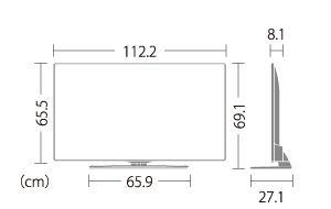 LC50U45|製品詳細|薄型テレビ/液晶テレビ アクオス:シャープ