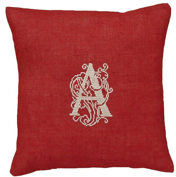 Make it personal with a Monogram cushion
