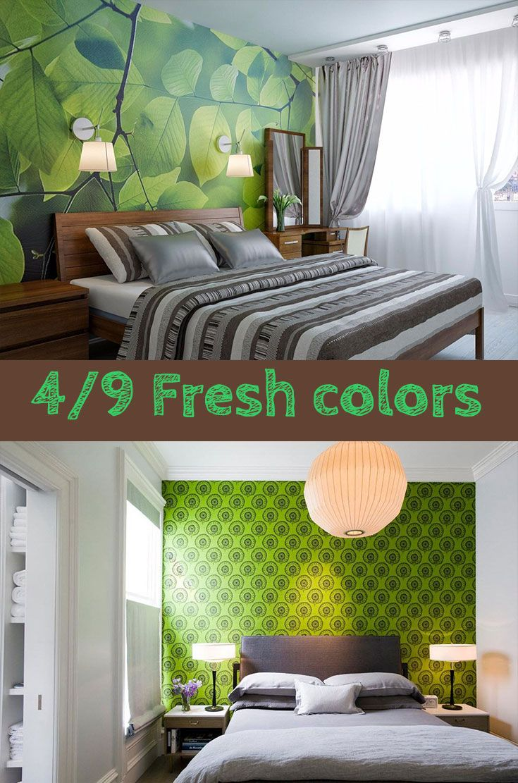 9 Small Bedroom Color Ideas 35 Photos Accent Wall Paint Combinations Small Bedroom Colours Bedroom Color Combination Bedroom Colors