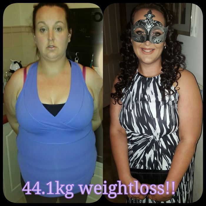 I Am A Mother Of 3 And Have Lost 43kg!! No Shakes Pills Or Surgery. Just Exercise And Food. | Bored Panda
