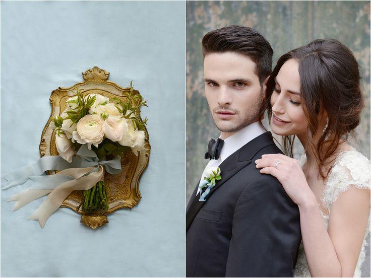 THE NORWEGIAN WEDDING BLOG : Stylet brud og bryllupsshoot fra Amalfi kysten av Studio Fazett
