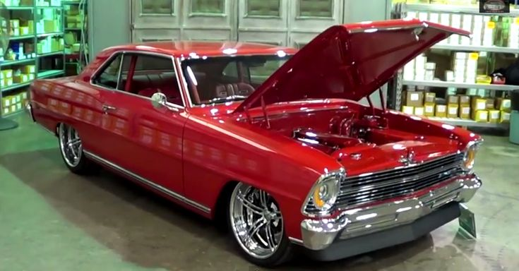 Breathtaking 1967 Chevy Nova Hot Rod. Double click to watch the video
