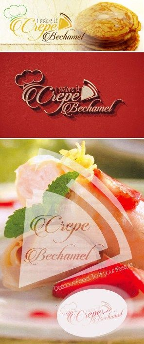 Crepe Bechamel Logo Design Collection