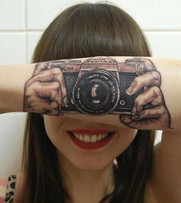 25 tatuagens 3D que vão fundir o seu cérebro - Mega Curioso - Fotógrafa