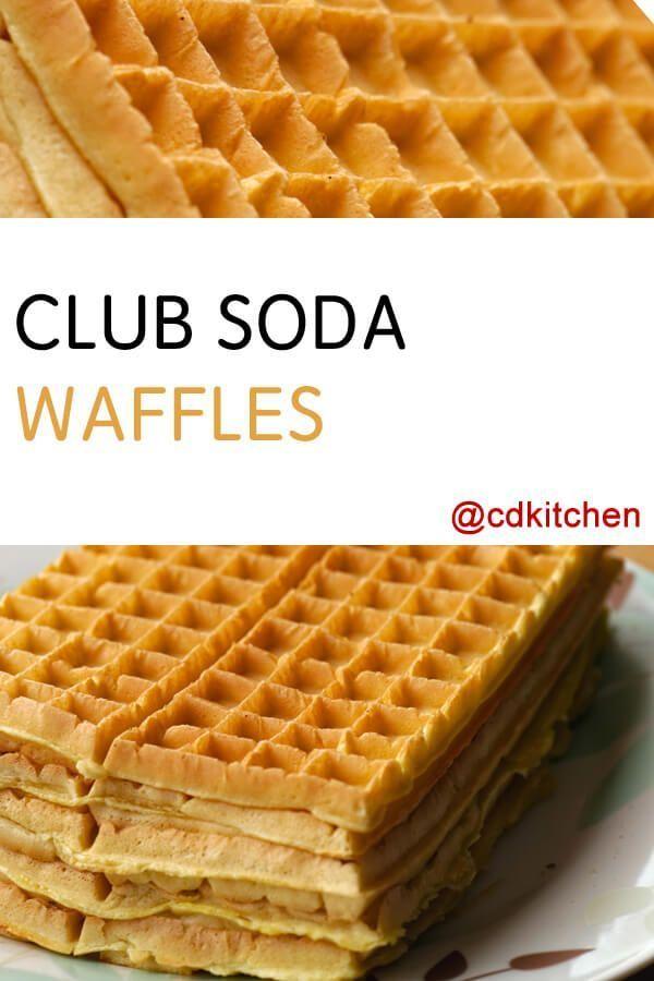 Club soda waffles receta club soda waffles recipe cdkitchen forumfinder Image collections