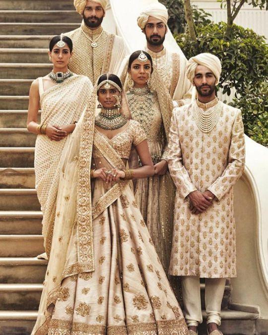 Sabyasachi (Desi Bridal Shaadi Indian Pakistani Wedding Mehndi Walima)