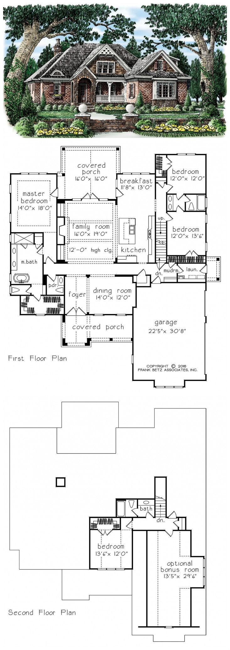 Betz house plans with large kitchen frank house plans designs ideas -  Frank Betz House Plan Glenella Springs By Frank Betz Associates Inc