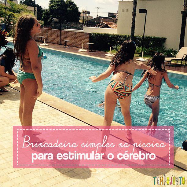 Palavra na piscina é um jogo rápido e divertido que ao mesmo tempo estimula a concentração e o raciocínio das crianças
