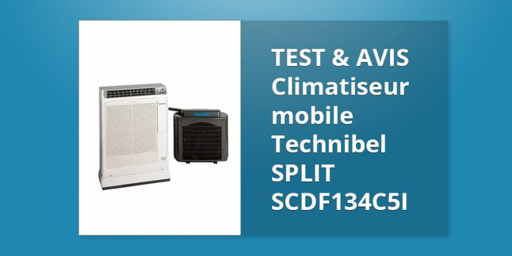 Climatiseur mobile Technibel SPLIT SCDF134C5I